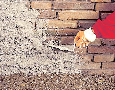 Sanace cihelného zdiva vystaveného vzlínající vlhkosti